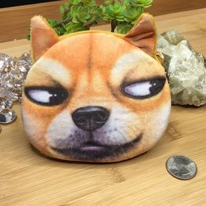 Handbags - Fox Dog Coin Purse